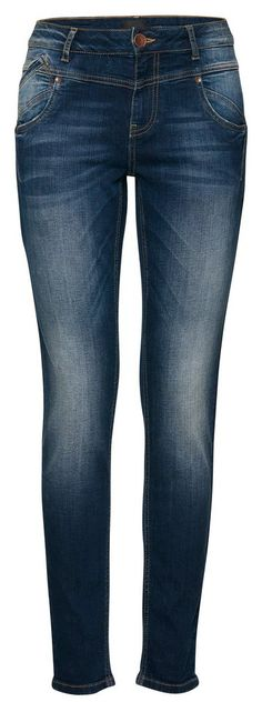 Pulz Jeans Skinny-fit-Jeans »Carmen Highwaist« für 99,95€. Midwaist-Jeans im Skinny-Fit, Baumwolle mit Stretchanteil bei OTTO