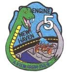New Haven Fire Department Patch for Woodward Station