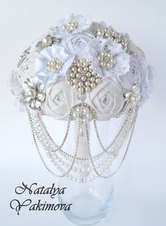 FULL PRICE Brooch Bouquet Vintage Cascading bouquet от singleday