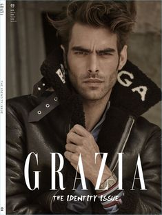 A Singular Man: Jon Kortajarena for Grazia Australia Magazine Cover Layout, Magazine Covers, Erin Mommsen, Gq Australia, Most Handsome Actors, Magazine Man, Grazia Magazine, Jon Kortajarena, Marlon Teixeira