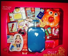 Our-Generation-Fits-18-Inch-Doll-Well-Travelled-Luggage-Set-Accessories-NEW