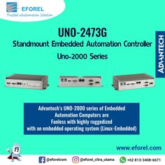 Advantech's UNO-2000 series of Embedded Automation Computers are fanless with highly ruggedized with an embedded operating system (Linux-Embedded). It also includes iDoor technology which supports automation feature extensions such as industry fieldbus communication