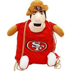 "San Francisco 49ers 8"" Plush Duck"