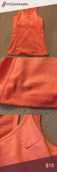 Nike Dri-fit workout top Nike dri-Fit  tank with built in bra never used size medium. Nike Tops Tank Tops