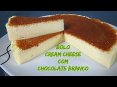 BOLO CREAM CHEESE COM CHOCOLATE BRANCO - YouTube