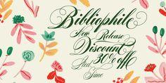 Bibliophile Script - Webfont & Desktop font « MyFonts