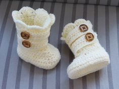Crochet Boots Pattern Crochet Booties by CrochetBabyBoutique, $4.99