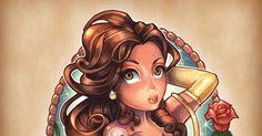 O artista Tim Shumate é mais um que usa as princesas da Disney em seu trabalho, ele criou uma série de desenhos com as princesas da Disney n...