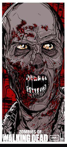 TWD RV Zombie