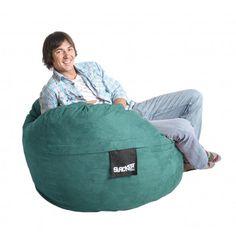 Bean Bag Chair Color: Teal, Size: Medium - http://delanico.com/bean-bag-chairs/bean-bag-chair-color-teal-size-medium-525977457/