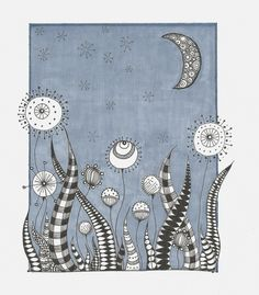 zentangle inspired art-this would be fun to quilt