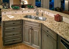 Painting the cabinets is a quick and inexpensive way to give your kitchen a face-lift.