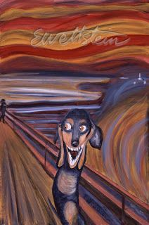The Long and Short of it All: A Dachshund Dog News Magazine: Dachshunds in Art: Earl Wettstein