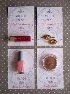 bridesmaid invitations wedding Pinterest Wedding Wedding
