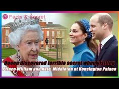 Queen discovered terrible secret when visiting Prince William and Kate  Middleton at Kensington Pala - YouTube Airbrush Foundation, Duke Of Cambridge, Prince William And Kate, Princess Kate, Queen Elizabeth, Kate Middleton, Youtube, Duchess Kate, Youtubers