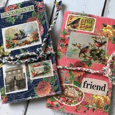 "RosebudBirdie's Instagram post: ""New TN Journal Covers just listed!  Made with @catheholden  #fleamarketmix fabrics!! Love the vintage look of these gorgeous florals and…"" Journal Covers, Vintage Looks, Journals, Florals, Porn, Fabrics, Shoulder Bag, Sewing, Create"