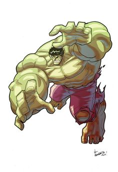 #Hulk by *theFranchize on deviantART