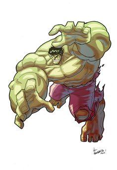#Hulk #Fan #Art. (Hulk) By: Thefranchize. (THE 5 STÅR ÅWARD OF: AW YEAH, IT'S MAJOR ÅWESOMENESS!!!™)
