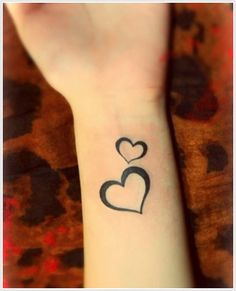 small heart tatoos