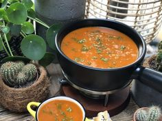 Backgrounds Wallpapers, Healthy Soup Recipes, Diy Food, Chana Masala, Curry, Good Food, Dinner Recipes, Food And Drink, Veggies