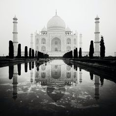 Hauntingly Beautiful Black & White Photos of the Taj Mahal - Austrian photographer Josef Hoflehner travels throughout the world to document amazing locations like the beaches of St. Martin in the Caribbean and, in this case, India's Taj Mahal.