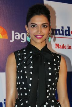 Deepika Padukone at mid-day relaunch party. #Style #Bollywood #Fashion #Beauty