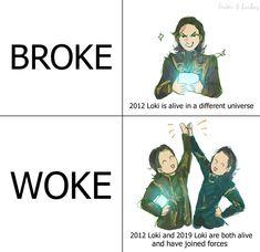 Loki Thor, Loki Laufeyson, Tom Hiddleston Loki, Marvel Funny, Marvel Memes, Marvel Avengers, Marvel Comics, Shows, Marvel Characters
