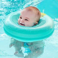 Accessories Swimming Pool & Accessories Dependable Safety Baby Neck Float Swimming Newborn Baby Swimming Neck Ring With Pump Gift Mattress Cartoon Pool Swim Ring For 0-24 Months Quality And Quantity Assured