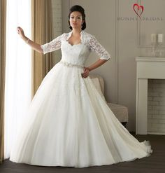 Plus Size Wedding Dress Shopping Tips and Ideas from Five Bridal ...
