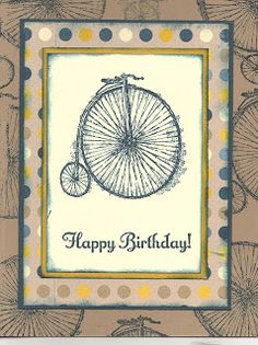 LInda's fun card uses Feeling Sentimental (SAB) and Print Poetry dsp.