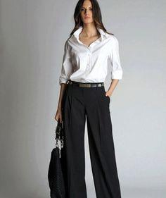 Модные широкие женские брюки-2017 и фото стильных фасонов широких брюк