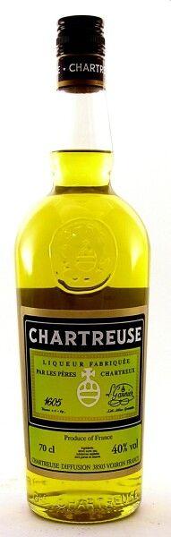Chartreuse gelb Kräuterliqueur