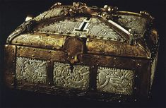 The Bamberg casket, a 10th-century masterpiece of Scandinavian art, found in a Bavarian church in Germany.
