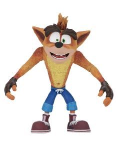 "7"" Scale Crash Bandicoot Video Game Figure From NECA #Toys"
