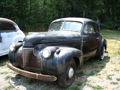 Lil rusted, but still good. 1940 Chevy (lowrider potential)