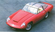 1960 Alfa Romeo 6C 3000 CM Superflow, design Pininfarina.