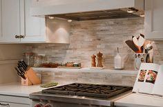 50 Kitchen Backsplash Ideas marble tile backsplash neutrals – Interior Design Ideas