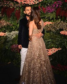50 best pictures from Anushka Sharma and Virat Kohli's Mumbai reception 50 best pictures from Anushk Wedding Dresses For Girls, Indian Wedding Outfits, Indian Outfits, Bridal Dresses, Indian Reception Outfit, Anushka Sharma And Virat, Virat Kohli And Anushka, Reception Gown, Wedding Reception