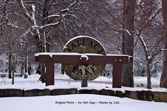 Winter photograph Wallace Lake Berea Ohio by CraftingMemoriesOhio