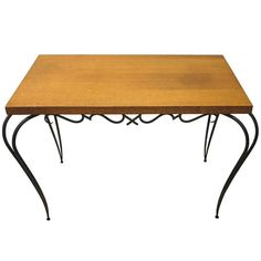 Table by Rene Prou circa 1935 Made in France | From a unique collection of antique and modern coffee and cocktail tables at http://www.1stdibs.com/furniture/tables/coffee-tables-cocktail-tables/