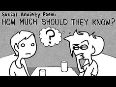 """Social Anxiety Poem #2: """"HOW MUCH SHOULD THEY KNOW?"""" Tales Of Mere Existence - YouTube"""