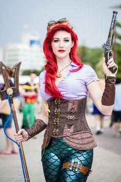 Steampunk Tendencies | Ariel Steampunk Little Mermaid cosplay