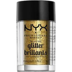 NYX Professional Makeup Face and Body Glitter Color:GoldGold