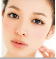 Erika Mori - natural pretty makeup