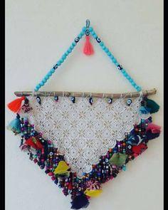 Handmade Beaded Jewelry, Handmade Ornaments, Paper Flowers, Lana, Kids Toys, Dream Catcher, Macrame, Diy And Crafts, Crochet Necklace
