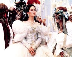 vintagegal:  Labyrinth (1986). I used to want this as my wedding dress.