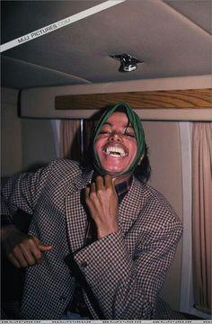 #MichaelJackson in a playful mood.© Raynetta Manees, Author