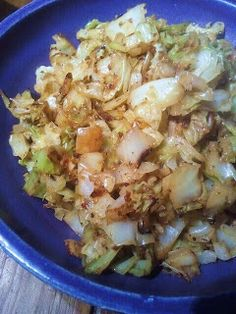 HCG DIET Phase 2 (P2) RECIPE : Chicken Cabbage Scramble