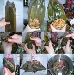 My Kitchen: Homemade Bak Chang (Pork Dumpling)