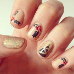 Chrsitmas nails #2
